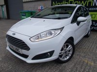 USED 2016 16 FORD FIESTA 1.2 ZETEC 5d 81 BHP Excellent Condition, FSH, Low Rate Finance Available, No Deposit, No Fee Finance