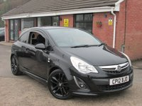 2012 VAUXHALL CORSA 1.2 LIMITED EDITION 3dr ONE OWNER £4790.00
