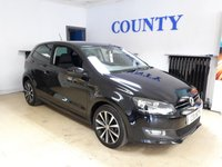 2013 VOLKSWAGEN POLO 1.2 MATCH EDITION 3d 59 BHP £7795.00