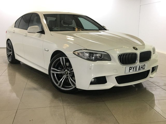 View our 2011 11 BMW 5 SERIES 2.0 520D M SPORT 4d AUTO 181 BHP