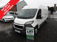 USED 2014 64 PEUGEOT BOXER 2.2 HDI 335 L3H2 PROFESSIONAL 130 BHP NEW SHAPE SAT NAV AIR CON  NEW SHAPE CHOICE IN STOCK