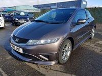 2011 HONDA CIVIC 1.3 I-VTEC TYPE S I-SHIFT 3d AUTO 98 BHP £5995.00
