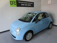 2011 FIAT 500 1.2 POP 3d 69 BHP £5490.00