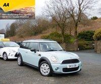 2013 MINI CLUBMAN 1.6 ONE D 5d 90 BHP £7295.00