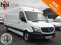 2014 MERCEDES-BENZ SPRINTER 2.1 313 CDI LWB FACELIFT HIGH ROOF £SOLD