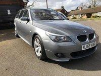 2008 BMW 5 SERIES 2.0 520D M SPORT TOURING 5d AUTO 175 BHP £4995.00