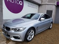 2015 BMW 4 SERIES 2.0 420D M SPORT GRAN COUPE 4d AUTO 181 BHP £18995.00