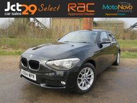 2014 BMW 1 SERIES 1.6 116D EFFICIENTDYNAMICS 5d 114 BHP £10490.00