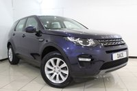 USED 2015 65 LAND ROVER DISCOVERY SPORT 2.0 TD4 SE TECH 5DR 180 BHP HEATED LEATHER SEATS + SAT NAVIGATION + 7 SEATS + PARKING SENSOR + BLUETOOTH + CRUISE CONTROL + MULTI FUNCTION WHEEL + CLIMATE CONTROL + 18 INCH ALLOY WHEELS