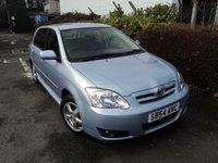 2004 TOYOTA COROLLA 1.6 T3 VVT-I 5d AUTO 109 BHP £SOLD