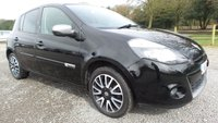 USED 2012 62 RENAULT CLIO 1.1 GT LINE TOMTOM TCE 5d 100 BHP ONE OWNER, SATELLITE NAVIGATION, LOW MILEAGE, 2 X KEYS, HALF LEATHER, CLIMATE CONTROL, PARKING SENSORS, ALLOYS,