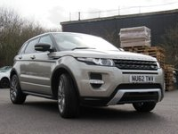 USED 2012 62 LAND ROVER RANGE ROVER EVOQUE 2.0 SI4 DYNAMIC 5d AUTO 240 BHP