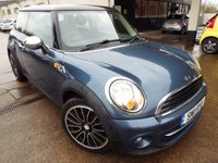 2011 MINI HATCH COOPER 1.6 COOPER 3d 122 BHP
