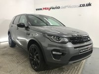 2017 LAND ROVER DISCOVERY SPORT 2.0 TD4 HSE BLACK 5d AUTO 180 BHP £34995.00
