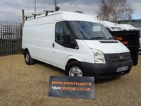 2012 FORD TRANSIT VAN 2.2 330 5d 125 BHP LWB MEDIUM ROOF  £6990.00