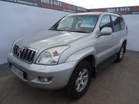 2007 TOYOTA LAND CRUISER 3.0 D-4D LC3 8STR 5d AUTO 171 BHP 7 SEATER 4X4 WITH LEATHER £7995.00