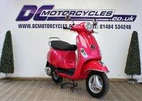 2014 PIAGGIO VESPA 125cc  £2995.00