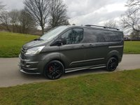 2016 FORD TRANSIT CUSTOM 2.2 270 LIMITED LR 125 BHP RS STYLING PACK SAT NAV AIR CON £16750.00