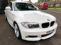 2011 BMW 1 SERIES 2.0 118D M SPORT 2d 141 BHP £6996.00