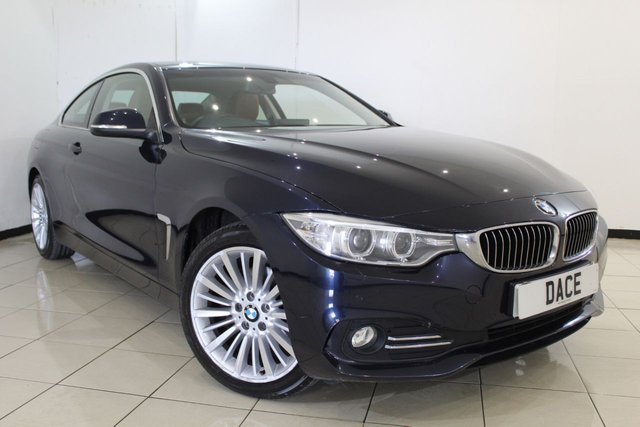 View our 2014 14 BMW 4 SERIES 2.0 420D XDRIVE LUXURY 2DR 181 BHP