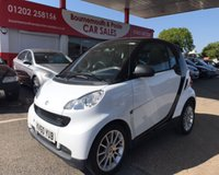 2010 SMART FORTWO 1.0 PASSION MHD 2d AUTO 71 BHP £4795.00