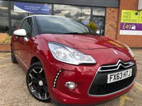 2013 CITROEN DS3 1.6 E-HDI DSTYLE PLUS 3d 90 BHP £5625.00