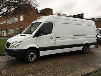 2013 MERCEDES-BENZ SPRINTER 2.1 313CDI LWB HIGH ROOF 130BHP FRIDGE FREEZER PANEL VAN £SOLD