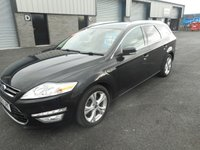 USED 2013 63 FORD MONDEO 2.0 TITANIUM X BUSINESS EDITION TDCI 5d 138 BHP SAT NAV LEATHER