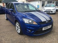 USED 2008 58 FORD FOCUS 2.5 ST-2 5d 223 BHP COMPREHENSIVE SERVICE HISTORY