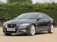 USED 2015 15 JAGUAR XF 3.0 D V6 S PORTFOLIO 4d AUTO 275 BHP AUTOMATIC, FULL LEATHER + HEATED AND COOLED SEATS