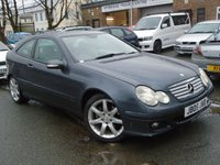 2005 MERCEDES-BENZ C CLASS 1.8 C160 KOMPRESSOR SE 3d AUTO 121 BHP £2395.00