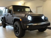 USED 2015 15 JEEP WRANGLER VAT Qualifying. 3.6 V6 Petrol Automatic Unlimited 5 Door with Removable Hard Top and Soft Top Option. VAT Qualifying and included in price. Fully Loaded Convertible V6 Pertol Automatic Wrangler with Gorgeous Quilted Nappa Leather Interior and Rockstar Alloy Wheels. VAT Qualifying and included in price.
