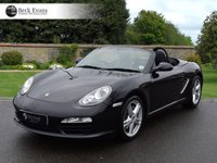 USED 2011 61 PORSCHE BOXSTER 2.9 24V 2d 255 BHP MANUAL  GENERATION 2  2.9 LOW MILEAGE