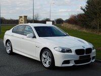 2013 BMW 5 SERIES 3.0 535D M SPORT 4d AUTO 309 BHP £16990.00