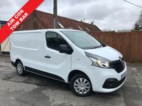 USED 2015 65 RENAULT TRAFIC 1.6 SL27 BUSINESS PLUS ENERGY DCI S/R P/V 1d 120 BHP Air Conditioning, Tow Bar, Bluetooth, Parking Censors, Finance Arranged.