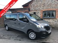 USED 2015 65 RENAULT TRAFIC 9 SEAT MINIBUS BUSINESS ENERGY DCI 5d 95 BHP PRICE CUT, 9 Seats, Only 23,000 Miles, Ion Grey, One Piece Tailgate, One Owner, Finance Arranged.