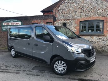 2015 RENAULT TRAFIC 9 SEAT MINIBUS BUSINESS ENERGY DCI 5d 95 BHP £11995.00