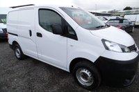 2012 NISSAN NV200 1.5 DCI SE 1d 110 BHP £5995.00