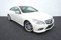2010 MERCEDES-BENZ E CLASS 3.0 E350 CDI BLUEEFFICIENCY SPORT 2d AUTO 231 BHP £13996.00