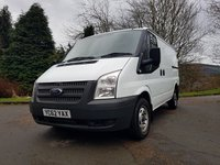 2013 FORD TRANSIT 2.2 300 LR 100 BHP AIR CON HEATED SCREEN SERVICE HISTORY £6250.00