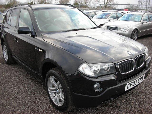 2007 07 BMW X3 2.0 D SE 5d 148 BHP