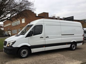 2014 MERCEDES-BENZ SPRINTER 2.1 313CDI LWB HIGH ROOF 130BHP NEW SHAPE. LOW 71K. 1 OWNER £10991.00