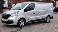 USED 2016 16 RENAULT TRAFIC 1.6 SL27 BUSINESS PLUS DCI S/R P/V 1d 115 BHP NO VAT TO ADD 1 OWNER F/S/H 2 KEYS LOW MILES \ FREE 12 MONTHS WARRANTY COVER //