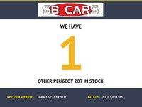 USED 2007 07 PEUGEOT 207 1.6 GT 3d 148 BHP HIGH SPEC`D VEHICLE: