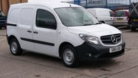 USED 2015 15 MERCEDES-BENZ CITAN 1.5 109 CDI 1d 90 BHP 1 OWNER F/S/H LOW MILES // FREE 12 MONTHS WARRANTY COVER ///