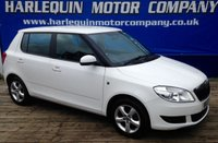 USED 2012 12 SKODA FABIA 1.4 SE 5d 85 BHP A PLEASURE TO SALE THIS 2012 SKODA FABIA 1.4 SE 5 DOOR MANUAL GLEAMING IN WHITE 1LADY OWNER WITH 3 SKODA SERVICE STAMPS +1 OTHER ALLOYS AIR CON MUST BE SEEN