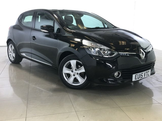 View our 2015 15 RENAULT CLIO 1.5 DYNAMIQUE MEDIANAV ENERGY DCI ECO2 S/S 5d 90 BHP