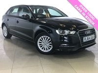 USED 2015 64 AUDI A3 2.0 TDI SE TECHNIK 5d 148 BHP 1 Owner/Sat Nav/Bluetooth/DAB