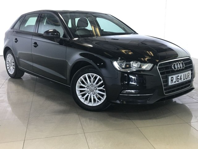View our 2015 64 AUDI A3 2.0 TDI SE TECHNIK 5d 148 BHP