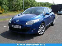 USED 2011 61 RENAULT MEGANE 1.6 I-MUSIC 5d 100 BHP AT OUR TWEEDBANK SITE